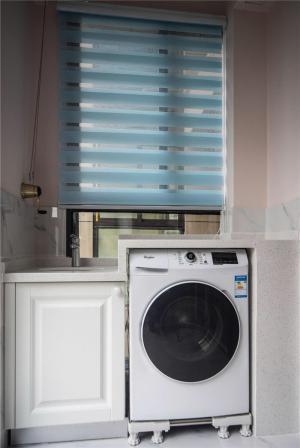 洗衣机放阳台效果图免费设