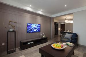 家装电视背景墙空间尺寸