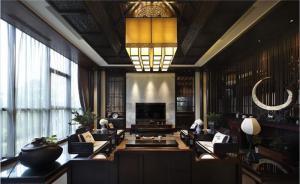 中式客厅背景墙定制设计