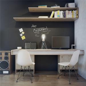 小户型设计双人书房