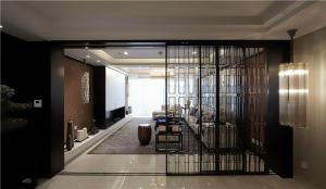 新中式进门玄关装修