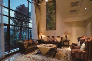简欧美式客厅家具