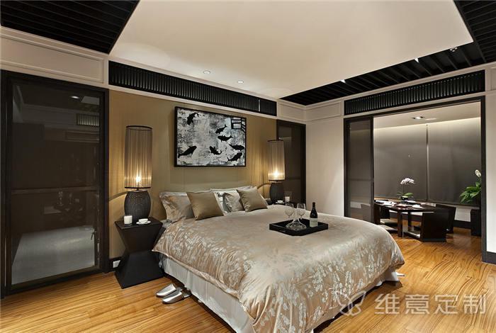 简欧家庭卧室装修