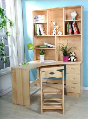 松木�和���桌��柜�M合