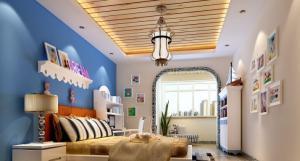 硅藻泥儿童房效果图全空间