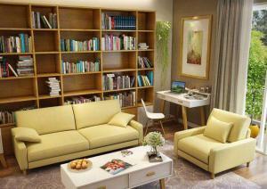 三居室小户型客厅书柜