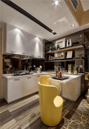 小厨房橱柜特色搭配