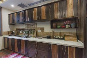 特色柜纸厨房厨柜