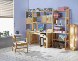 松木小书房书柜