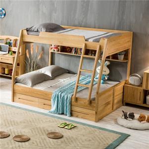 全实木北欧儿童房设计上下