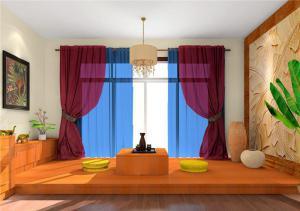 小户型榻榻米客厅装修图