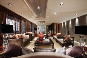 家装长方形客厅家具