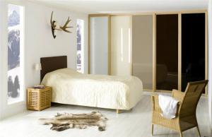 板式现代简约整体衣柜