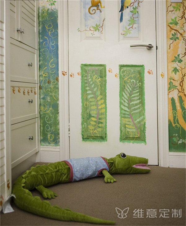 儿童房家装隐形门