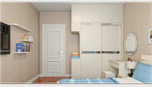 现代卧房衣柜