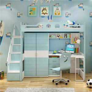 1.2米上下床组合儿童床书桌