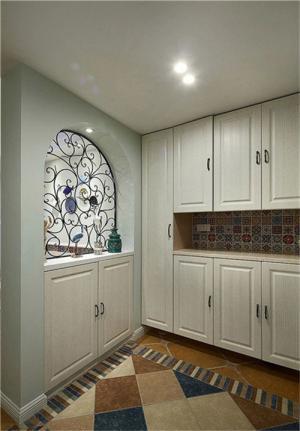 现代美式玄关装修效果图鞋柜
