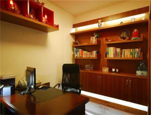 高清无字古典书房装修效果