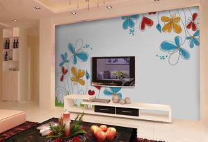 客厅电视墙装饰图片设计