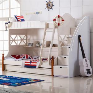 可爱公主儿童家具上下床