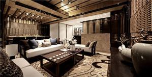 中式电视背景墙素材高清