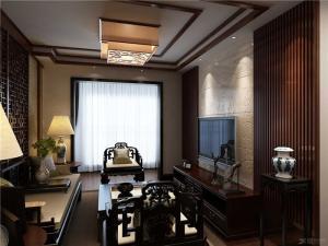 两室一厅小电视背景墙