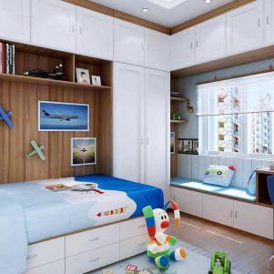 卧室书柜套餐木质衣柜