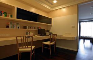 大空间转角双人书桌