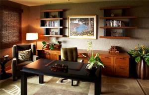 美式书桌怎样设计