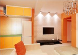 家居伸缩式电视柜