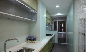 一字型小厨房橱柜