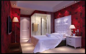 现代家庭卧室装修图片