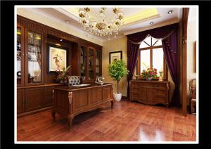 家用书桌实拍图