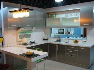 不锈钢整体厨柜