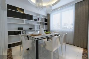 欧式奢华白色餐桌