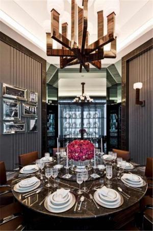 新古典中式餐桌