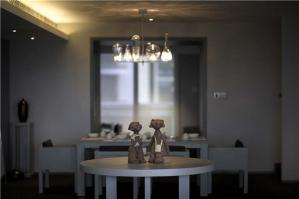 豪华小户型客厅餐桌