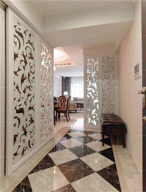 玄关吊顶装修效果图维意设计家具