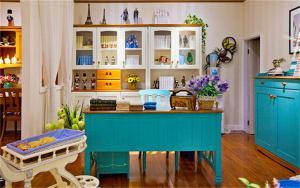硅藻泥儿童房效果图书房装