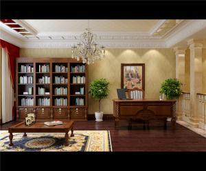 小书房装修风格家具搭配
