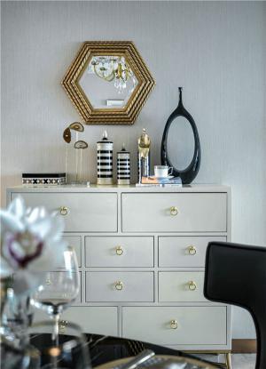小户型大空间装饰柜选购