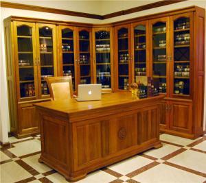 中式风格的转角书柜