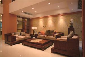 中式客厅家具实拍图