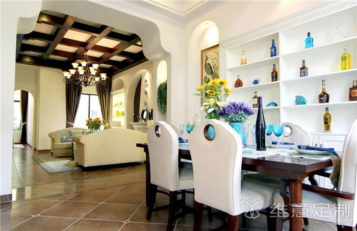 家居小客厅餐桌