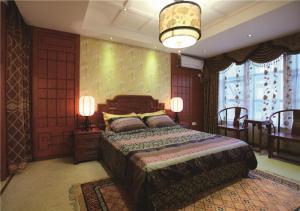 欧式奢华飘窗卧室设计