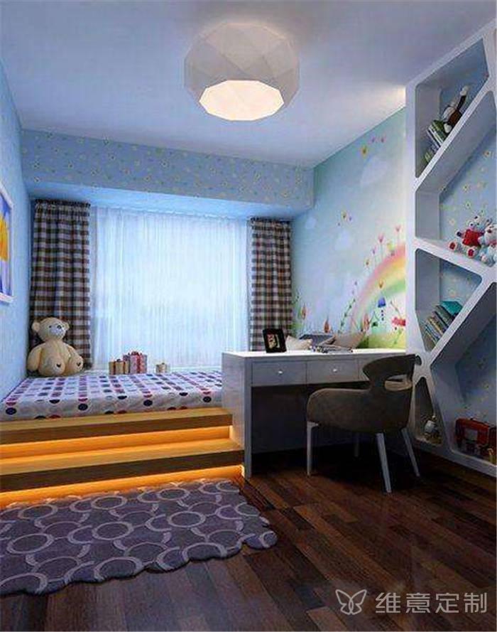 带飘窗的卧室装修图片欣赏