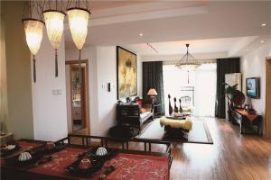 小清新新中式客厅家具