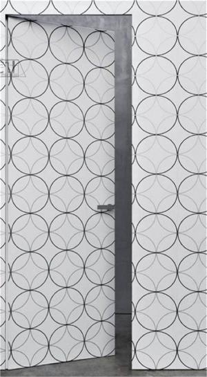 卫生间隐形门装修效果图设