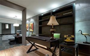 书房布置效果图全屋定制家具