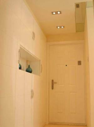 玄关墙装修效果图嵌入式鞋